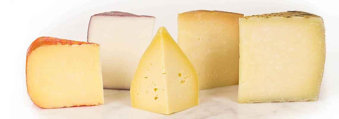 Μια μεγάλη ποικιλία τυριών