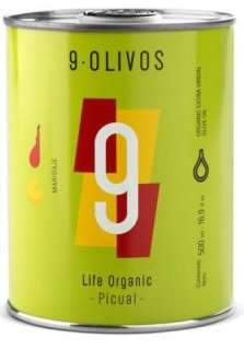 ελαιόλαδο 9-Olivos, picual