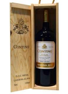 Ερυθροί οίνοι Contino  en caja de madera (Magnum)