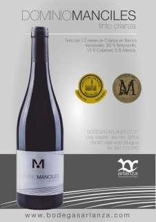 Ερυθροί οίνοι Dominio de Manciles, Crianza