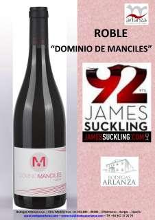Ερυθροί οίνοι Dominio de Manciles, Roble