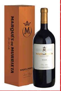 Ερυθροί οίνοι Marqués de Murrieta  en caja de cartón (Magnum)