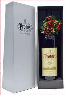 Ερυθροί οίνοι Protos  Magnum en caja de cartón