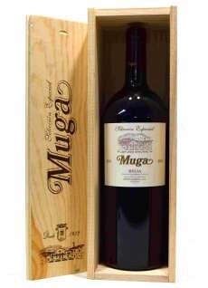 Κρασί Muga  Magnum en caja de madera