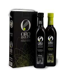 Oro Bailen.Estuche 2 botellas 750 ml.