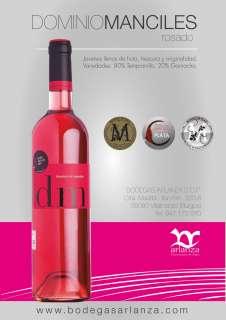 Ροζέ κρασί Dominio de Manciles, Rosado