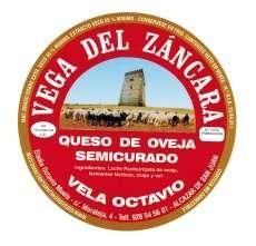 Semicured τυρί Vega del Záncara