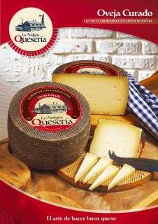 Τυρί La Antigua Queseria, Curado