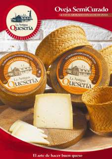 Τυρί La Antigua Queseria, Semicurado